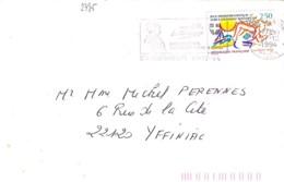 TP N°2795 SUR LETTRE  DE 1994 - Storia Postale