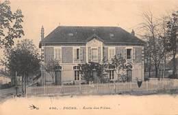 58 - Fours - Ecole Des Filles - N°3 - France