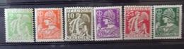 BELGIE  1932    Nr. 335 - 340    Postfris **   CW  18,50 - 1932 Cérès Et Mercure