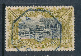 BELGIAN CONGO COB 59 USED SAKANIA TEL - Belgisch-Kongo