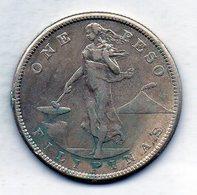 PHILIPPINES - UNITED STATES OF AMERICA, 1 Peso, Silver, Year 1907-S, KM #172 - Filippine