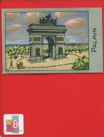 PALMIN Jolie Chromo Monument PARIS Arc De Triomphe - Cromos