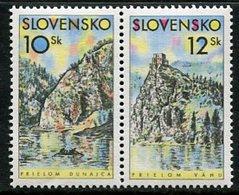 SLOVAKIA 2000 River Gorges  MNH / **  Michel 359-60 - Nuevos