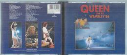 "2 CD  - QUEEN  "" LIVE AT WEMBLEY'86 ""   28  TITRES - Music & Instruments"