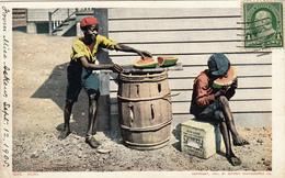 418/ Bliss, 2 Jongens Met Een Meloen, 1905 - Vereinigte Staaten