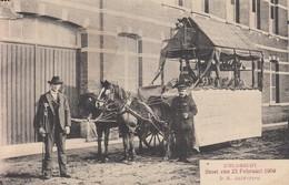"""Kieldrecht. Reeks """"stoet Van 23/02/1908"""" N.a.v. Plechtige Inhuldiging Pastoor J. Roggeman"""" - Beveren-Waas"""