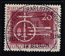 Bund 1955,Michel# 216 O  1000. Jahrestag Der Schlacht Auf Dem Lechfeld Mit Berlinstempel - Gebraucht