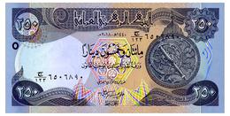 IRAQ 250 DINARS 2018 Pick New Unc - Iraq