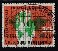 Bund 1956,Michel# 240 O   Internationale Polizei-Ausstellung (IPA), Essen Mit Berlinstempel - [7] Federal Republic