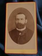 Photo CDV  Octavo à Nérac  Portrait Homme  Grosse Barbe (Xavier Darlan) CA 1875 - L241D - Photographs