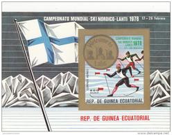 Guinea Ecuatorial Hb Michel B278 SIN DENTAR - Äquatorial-Guinea