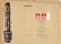 Germany / Berlin - Mi-Nr 187 Umschlag Echt Gelaufen / Cover Used (A1016) - Berlin (West)