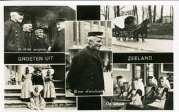 Zeeland, Groeten Uit, Meerluik. - Nederland