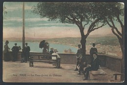 "L26.""Nice.La Plate-forme Du Chateau""Bureau De Poste 1911. Nice Via Moscou (Russie) StaroYuryevo (province De Tambov). - Covers & Documents"