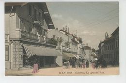 SUISSE - VAUD - VALLORBE - La Grande Rue - VD Vaud