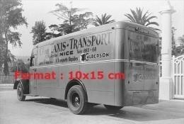 Reproduction D'une Photographie D'un Camion De La Compagnie Taxis-Transport Calberson De Nice - Reproductions
