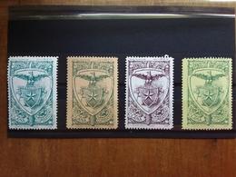 REGNO - Erinnofili - Club Alpino Italiano 1918 - Originali D'epoca - Nuovi ** + Spese Postali - 1900-44 Victor Emmanuel III.