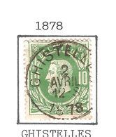REF66/ TP 30 C.Ghistelles 2/4/1878 - 1869-1883 Leopold II
