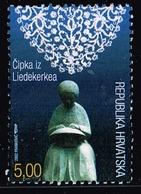 Kroatien 2002,Michel# 620 O  CIPKA IZ LIEDEKERKEA - Kroatien