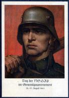 GG 1941 NSDAP Anniversary With Commem. Postmark (VF) - Occupation 1938-45