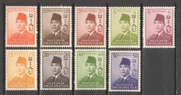 Indonesia - Riau Lingga 1960 Mi 33-41 MLH - Indonésie