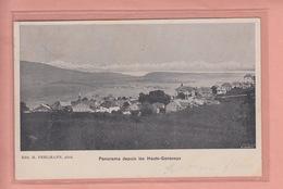 OUDE POSTKAART ZWITSERLAND - SCHWEIZ - SUISSE -      1906 - HAUTS-GENEVEYS - EDIT. FEHLMANN - NE Neuchâtel