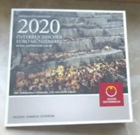 Oostenrijk   2020  BU Met De 8 Munten - Coffret Avec Les 8 Pièces  Zeer Zeldzaam - Extréme Rare !!! - Autriche