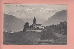 OUDE POSTKAART ZWITSERLAND - SCHWEIZ - SUISSE -   ST. CASSIAN BEI SILS - GR Grisons