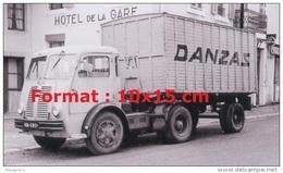 Reproduction Photographie D'un Camion Pour La Marque Danzas - Reproductions