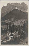 Zugspitz-Massiv, Ehrwald In Tirol, C.1930 - PPV Untergrainau Foto-AK - Ehrwald