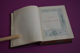 Missel De Saint Antoine De Padoue (n°97) - Missaal - Limoges Imp. Marc Barbou Et Cie - Fin 1800 - Pape Léon XIII - Godsdienst & Esoterisme