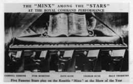 "Carte Postale De 1968 The ""Minx"" Among The ""Stars"" Autographe De Billy Thorburn Pianiste - Autogramme"