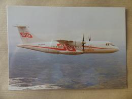 AIRLINE ISSUE / CARTE COMPAGNIE   AIR TAHITI   ATR 42 - 1946-....: Era Moderna