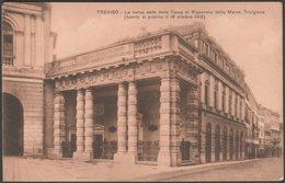 Cassa Di Risparmio Della Marca Trivigiana, Treviso, C.1915 - Zoppelli Cartolina - Treviso