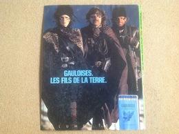 Pub Papier Tabac Allumettes, Gauloises - Pubblicitari
