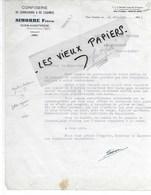 82 - Tarn-et-garonne - MAS-GRENIER - Facture SIMORRE - Confiserie De Cornichons Et De Légumes - 1945 - REF 127C - 1900 – 1949