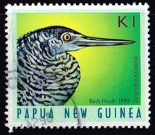 Papua-Neuguinea 1998,Michel# 816 O Forest Bittern (Zonerodius Heliosylus) - Unclassified