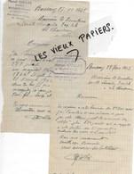 88 - Vosges - BUSSANG - Facture COLLAS - Bazar - 1942 - REF 127C - 1900 – 1949