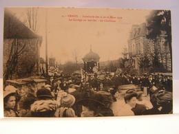 CPA 89 YONNE VENIZY CAVALCADE MARS 1910 LE CORTEGE EN MARCHE LE CHARLATAN 92 - Saint Florentin