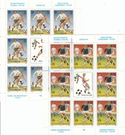 YUGOSLAVIA 2412-2413,unused Sheet,football - Copa Mundial