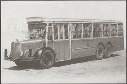 Alfa Romeo 110 A Autobus - Bus Story Postcard - Buses & Coaches