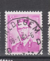 COB 1067 Oblitération Centrale MALDEGEM - 1953-1972 Brillen