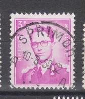 COB 1067 Oblitération Centrale SPRIMONT - 1953-1972 Brillen