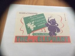 Buvard «THÉ DE L'ÉLÉPHANT» - Café & Thé