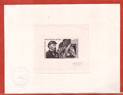 FRANCE  N°1660 DENFERT ROCHEREAU LION DE BELFORT,GUERRE EPREUVE D'ARTISTE COULEUR EN NOIR - Artist Proofs
