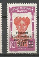GABON N° 115 NEUF** LUXE SANS CHARNIERE / MNH - Nuovi