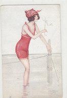 La Baigneuse - Sign. J.Jam        (A-148-190622) - Autres Illustrateurs