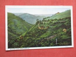 Military Road Near Aibonito  Puerto Rico Ref 3759 - Puerto Rico