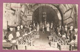 Cpa Epernay Travail Du Vin De Champagne - Le Tapotage - éditeur Bracquemart - Epernay