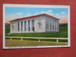 Carnegie Library San Juan   Puerto Rico Ref 3759 - Puerto Rico